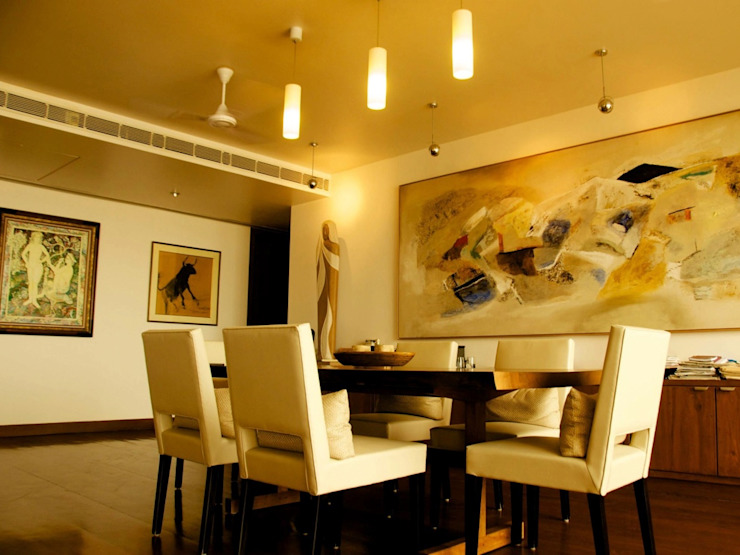 Residence at Bandra, Bandstand.: eclectic  by Design Kkarma (India),Eclectic