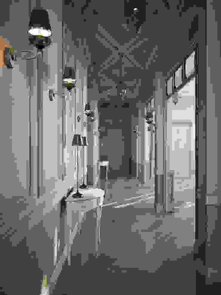 Частный дом, 450 м2, Анапа Коридор, прихожая и лестница в классическом стиле от De Steil Классический