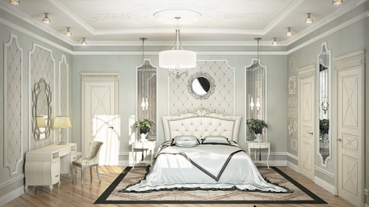 Classic style bedroom by De Steil Classic