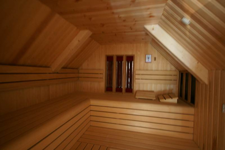 Country style gym by KleurInKleur interieur & architectuur Country