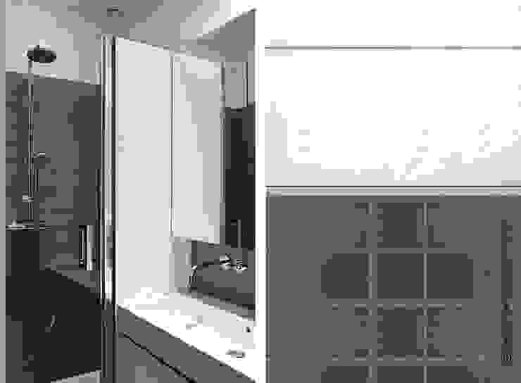 SALLE D'EAU & SANITAIRES Salle de bain moderne par Gwladys PARRA Moderne