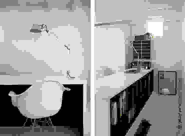 ESPACE DE TRAVAIL Bureau moderne par Gwladys PARRA Moderne