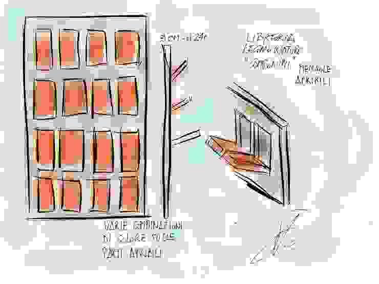 Libreria COMPONIMI di Studio L'AB Landcsape Architecture & Building