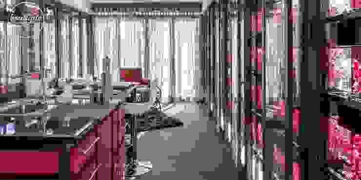 Estudio Coyoacan Cocinas modernas de Boutique de Arquitectura (Sonotectura + Refaccionaria) Moderno