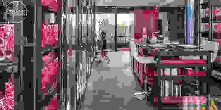 Cocinas de estilo moderno de Boutique de Arquitectura (Sonotectura + Refaccionaria) Moderno