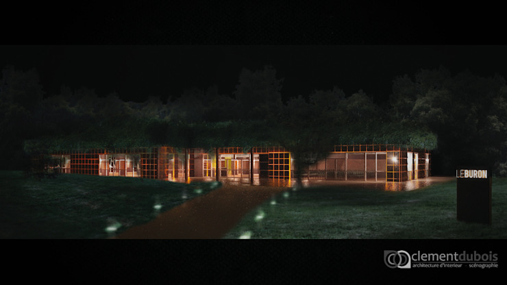 LE BURON / VULCANIA par Clément Dubois Architecture d'Intérieur