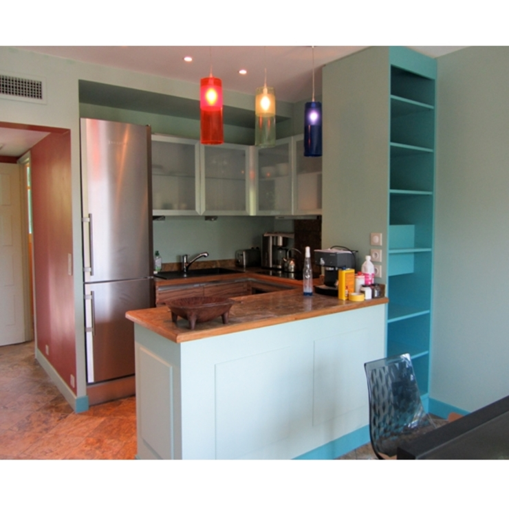 Cozinhas modernas por Notes de styles Nancy Moderno