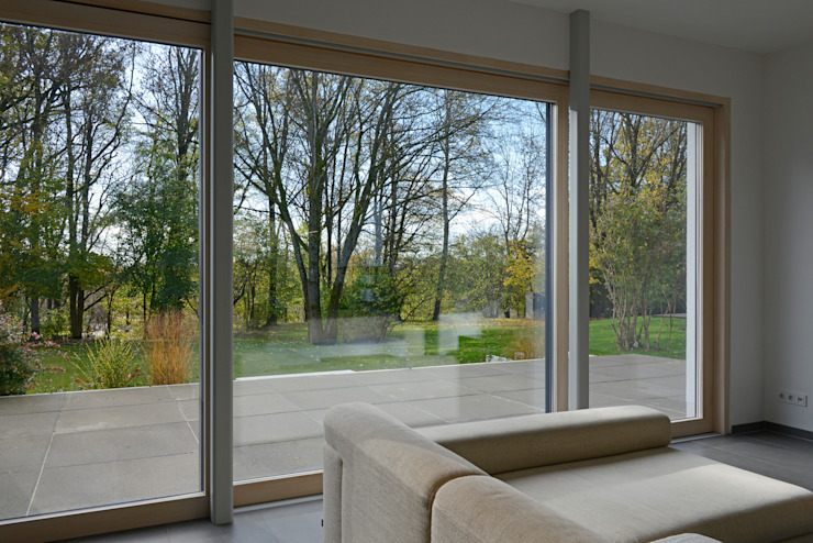 Modern Living Room by Herzog-Architektur Modern