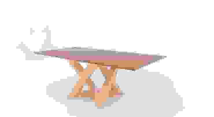 Tavolo: Rekubo di Antonio Saporito Architettura+design Eclettico