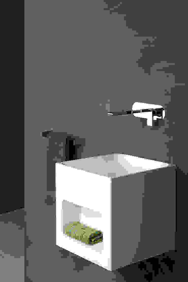 Bonomi Bonny - Miscelatore lavabo da incasso a parete di Bonomi Contemporaneo Italiano Moderno
