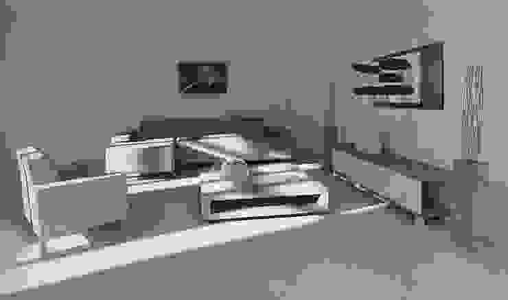 Portabottiglie in alluminio Esigo 6 di Esigo SRL Moderno Alluminio / Zinco