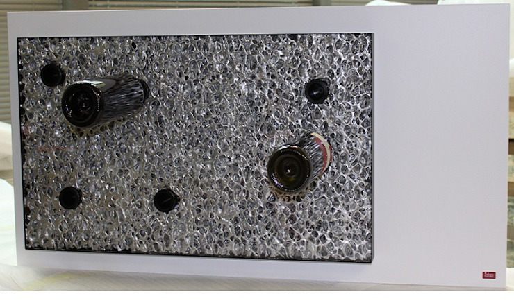 Esigo 6, un'opera d'arte dedicata al vino di Esigo SRL Moderno Alluminio / Zinco