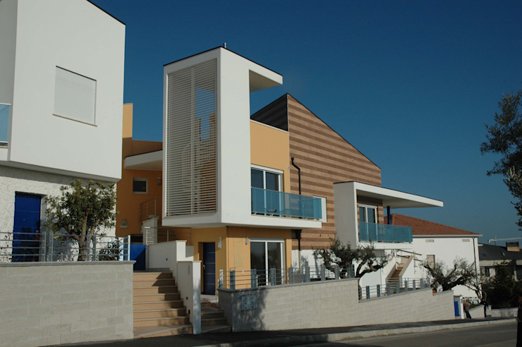 Residence <q>Gli Ulivi</q> Modern Houses by AGUZZI DESIGN STUDIO Modern