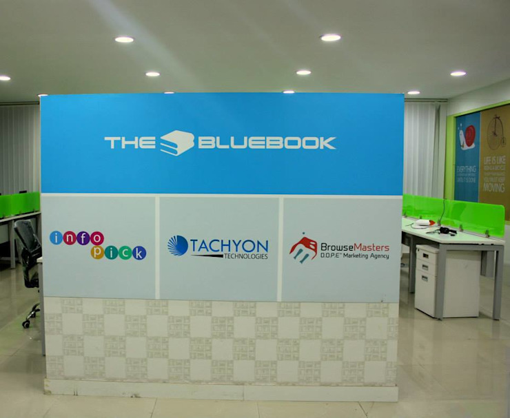 The bluebook: minimalist  by Deepaakula Design,Minimalist