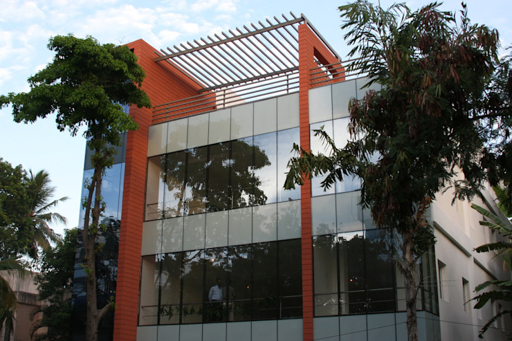 Corporate: modern  by Cubit Architects ,Modern