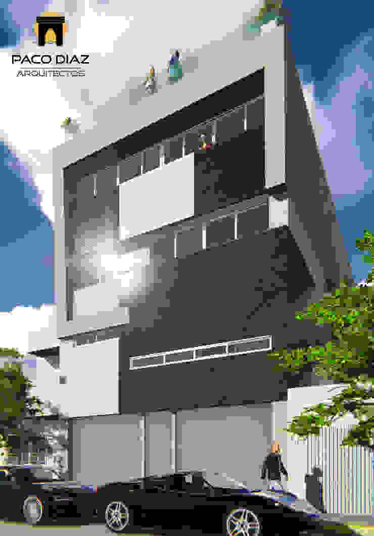 Residencia Cerro Gordo Casas modernas de PACO DIAZ ARQUITECTOS S.A. DE C.V. Moderno