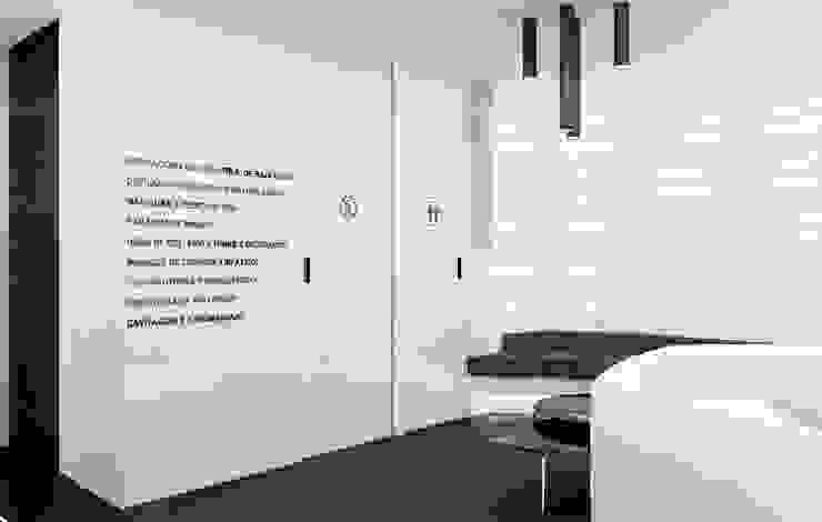 Concepto para clínica de Estética Clínicas de estilo minimalista de AG INTERIORISMO Minimalista