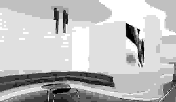 Recepción Clínicas de estilo minimalista de AG INTERIORISMO Minimalista