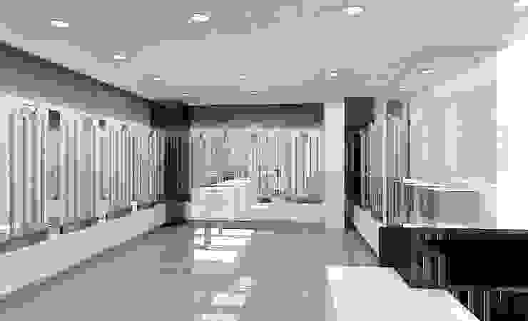 Concepto para tienda de gafas de sol Espacios comerciales de estilo moderno de AG INTERIORISMO Moderno