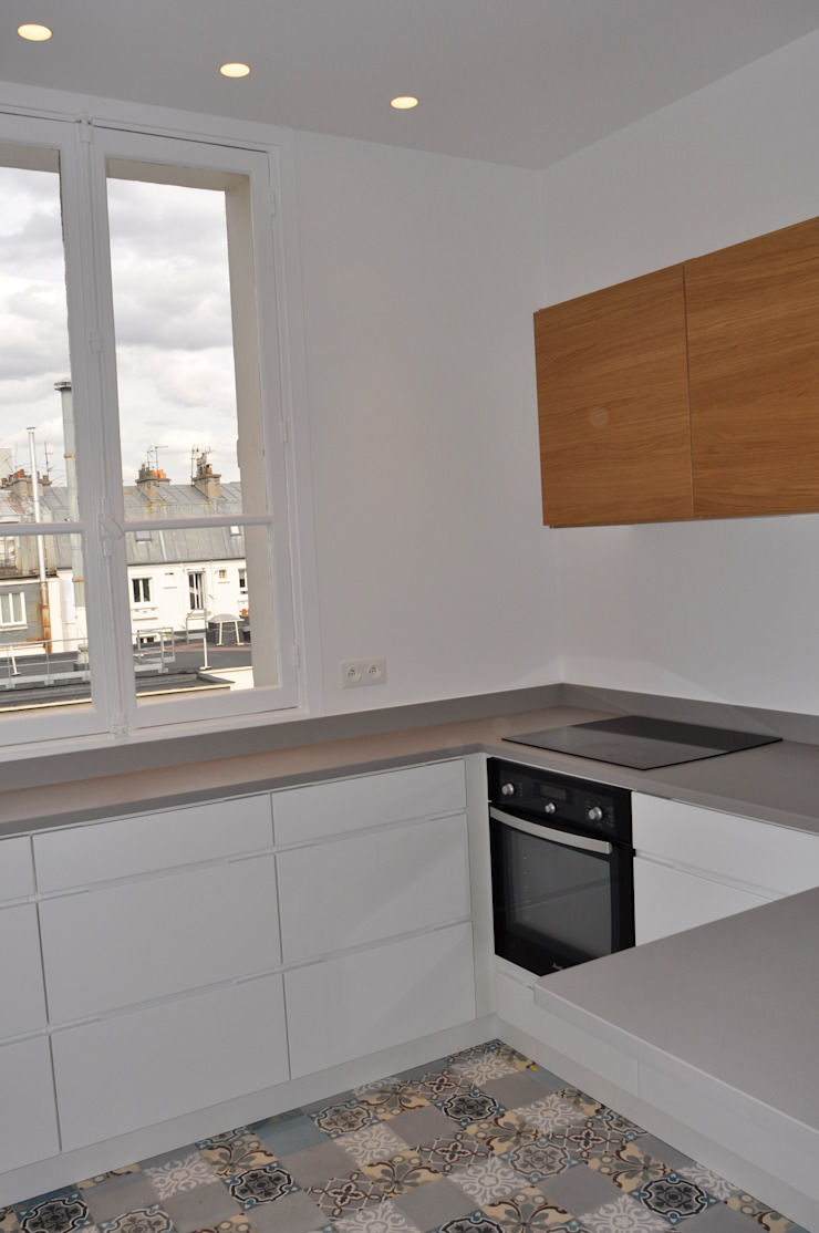 Appartement PVP, Paris 17e par Just'in
