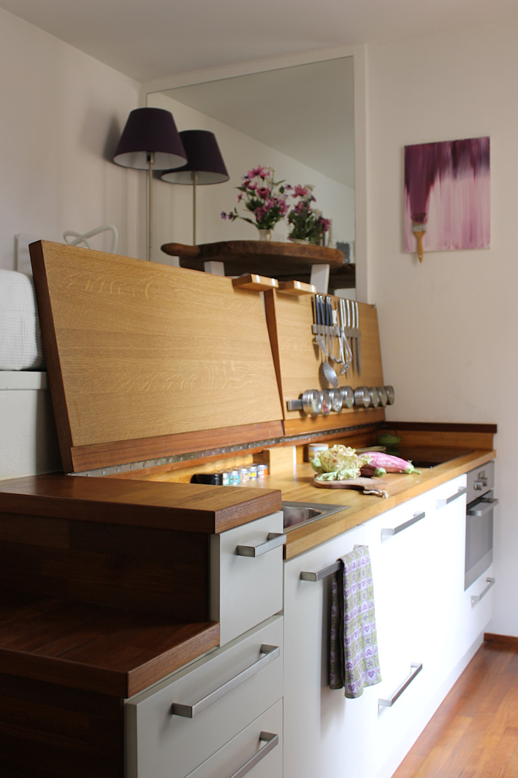Cozinhas modernas por Arch. Silvana Citterio Moderno