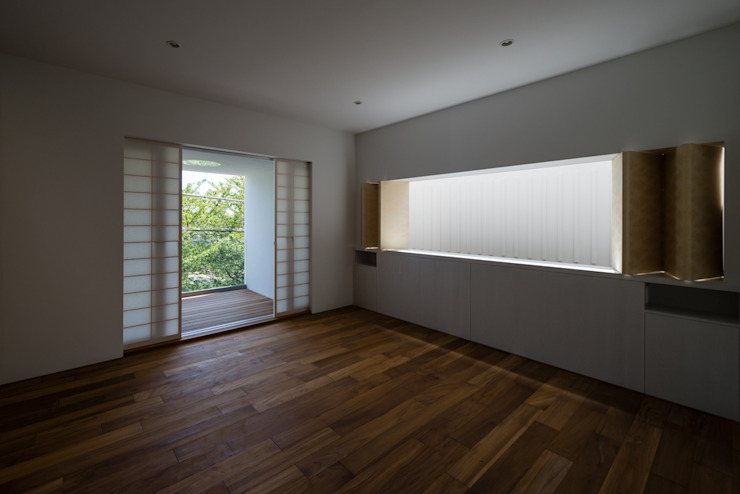 House for green,breeze and light モダンな 家 の Yaita and Associaes モダン
