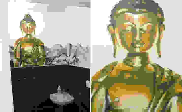 DES TOILETTES AMBIANCE ZEN Salle de bain originale par Popek décoration Éclectique