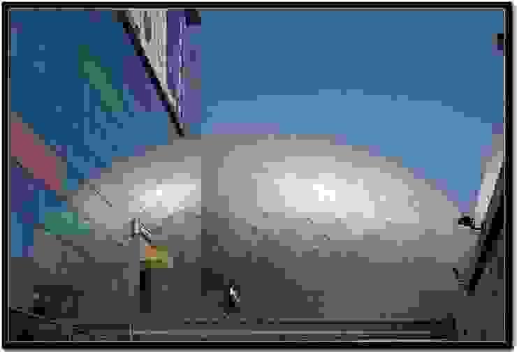 Poly Theatre: modern  by atelier blur / georges hung architecte d.p.l.g., Modern
