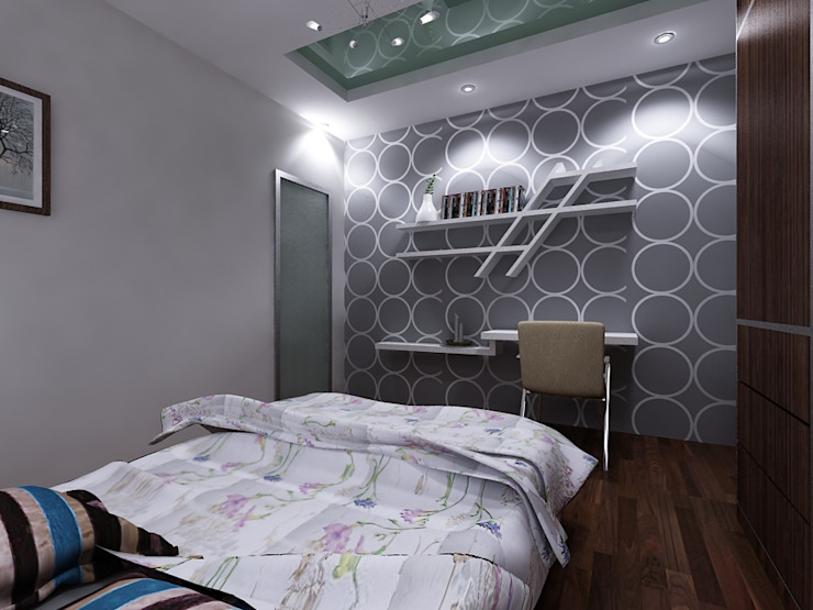 Residence Interior Design Modern houses by 4D Space Designers Modern