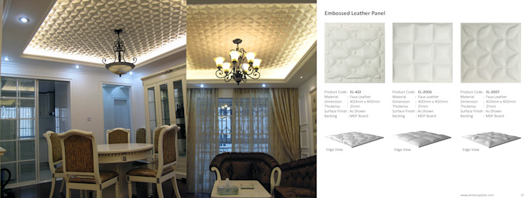 Embossed wall panel: classic  by series supplies,Classic