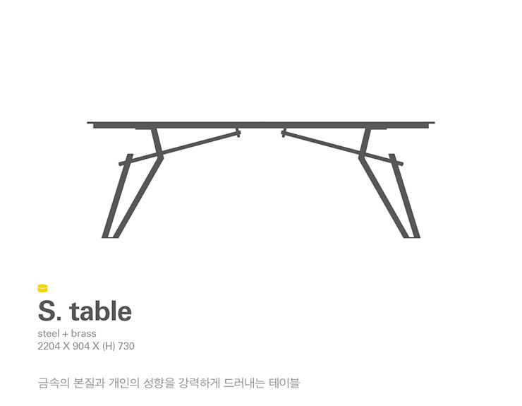 MP S.table: Metal Play의 미니멀리스트 ,미니멀