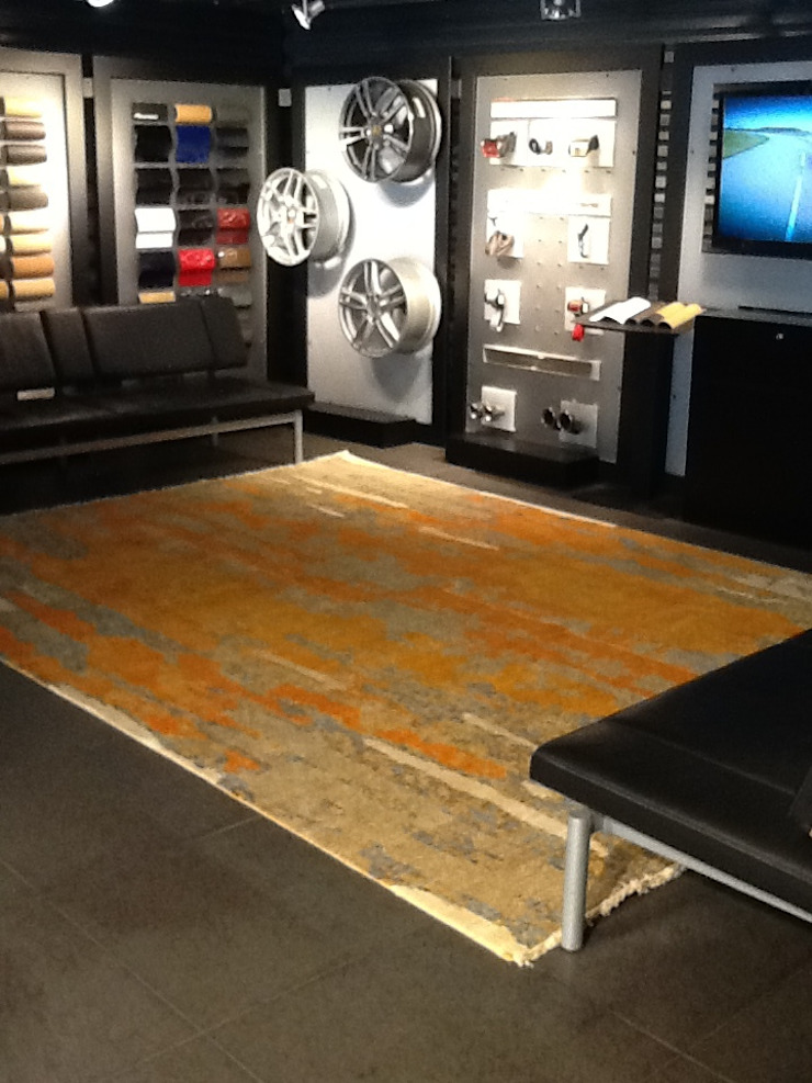 Cocoon at Porsche! by Cocoon Fine Rugs