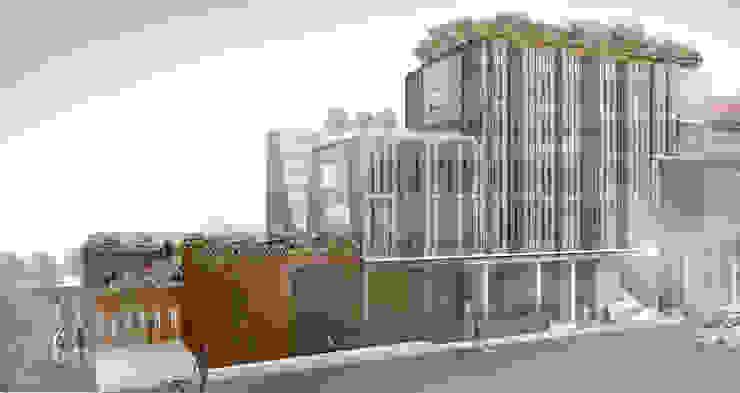 Concorso di idee per la progettazione di edificio polifunzionale con annesso parcheggio ad uso pubblico e privato. II fase di beatrice pierallini