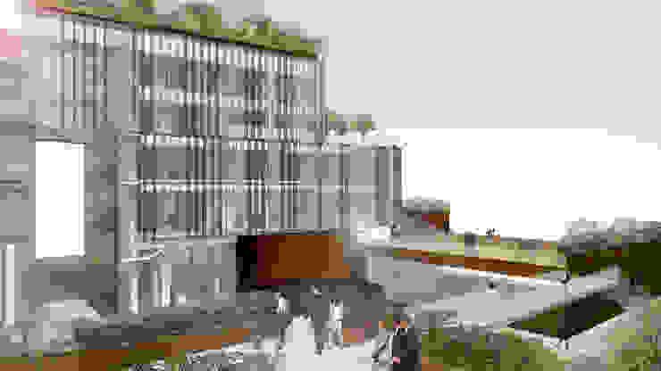 Concorso di idee per la progettazione di edificio polifunzionale con annesso parcheggio ad uso pubblico e privato. II fase. di beatrice pierallini