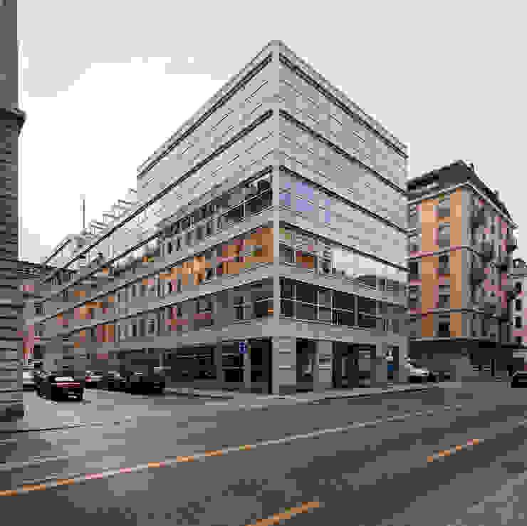 Etude d'avocats, transformation Genève Espaces de bureaux modernes par meier + associés architectes Moderne