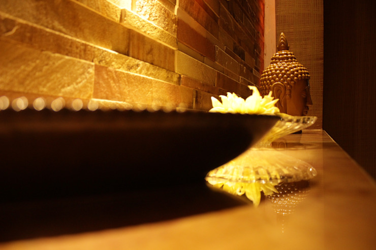 Day Spa at Baddi Asian style spa by Architect Suri and Associates Asian
