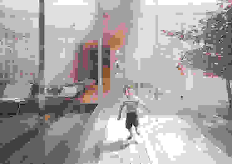 Harman Drive Modern living room by Kamvari Architects Modern