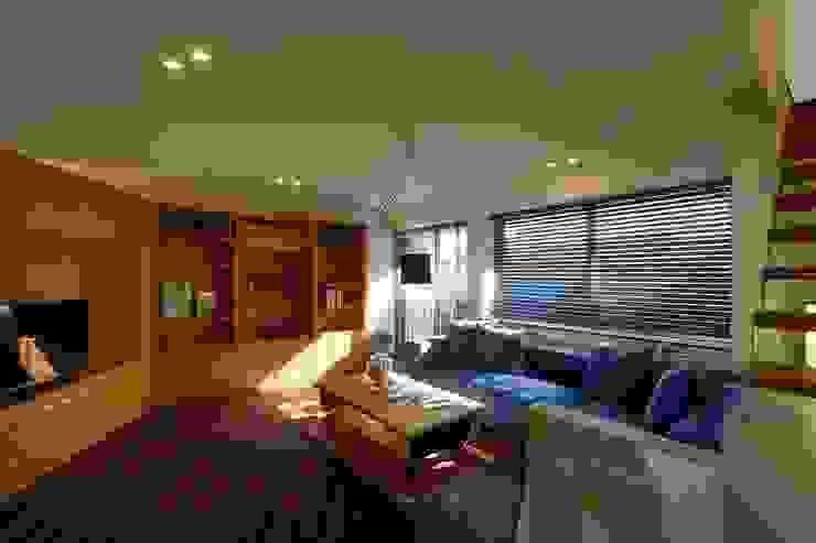 h-house モダンな 家 の スタジオグラッペリ 1級建築士事務所 / studio grappelli architecture office モダン