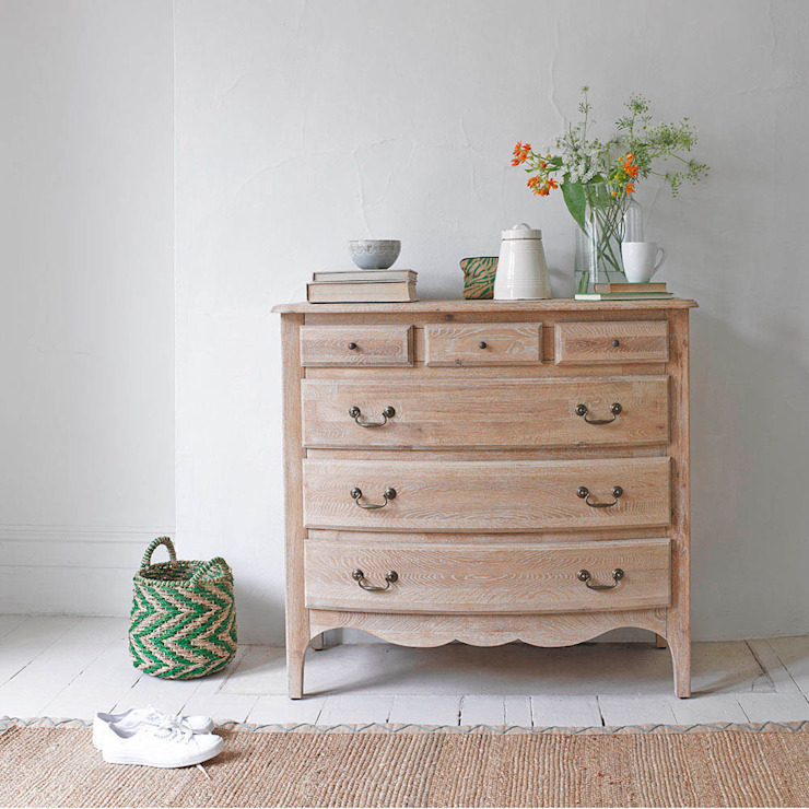 Audrie chest of drawers Rustic style bedroom by Loaf Rustic