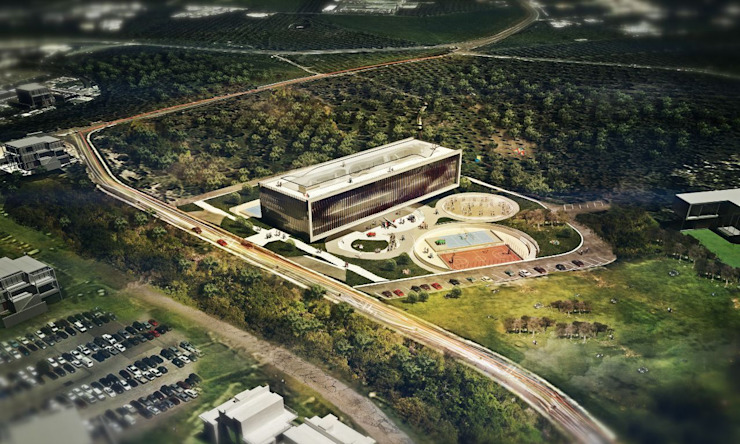 Crete Bioclimatic School by Kamvari Architects