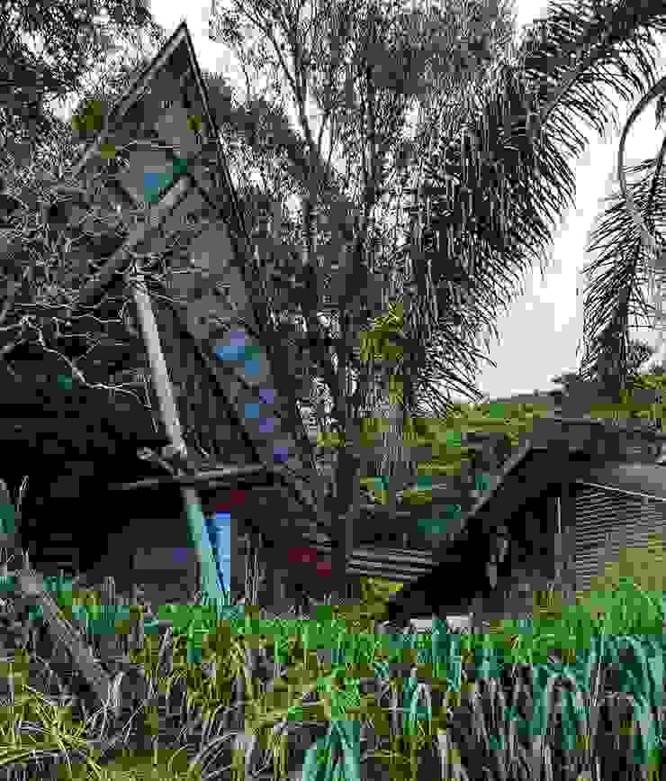 Casa da Floresta Casas campestres por Ferraro Habitat Campestre