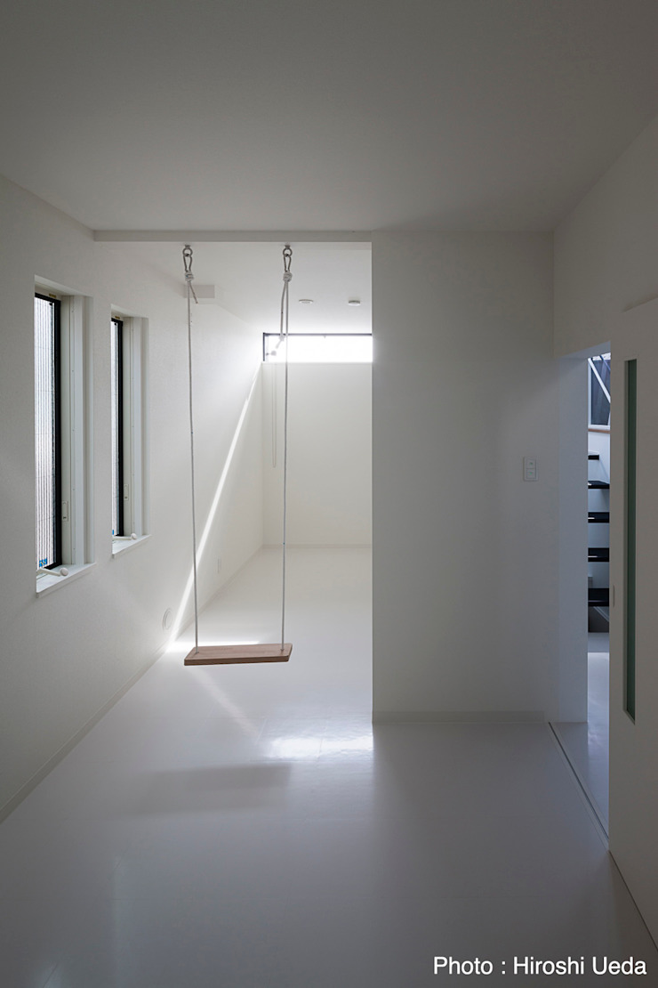 HAKONOOUCHI06 Modern style media rooms by 石川淳建築設計事務所 Modern