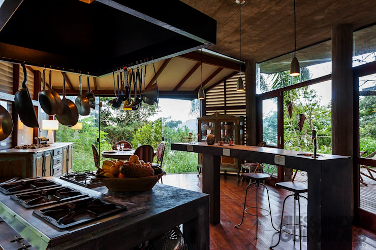 Dapur Gaya Country Oleh Ferraro Habitat Country