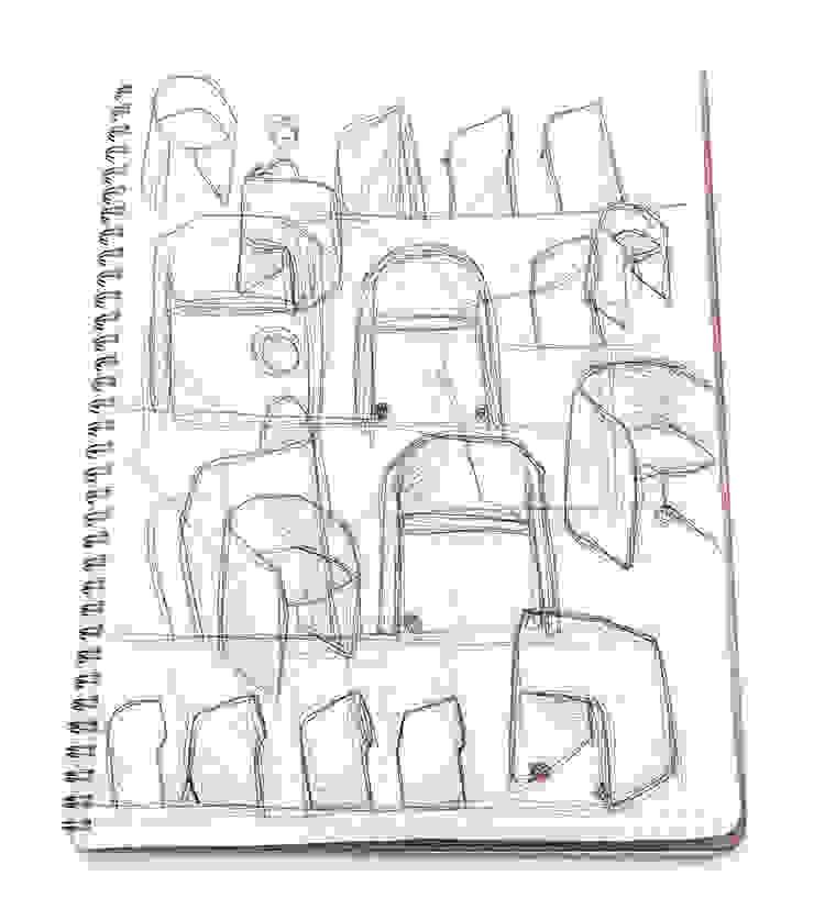 "'LAJA Wings"" for Pedrali di Alessandro Busana Designstudio"