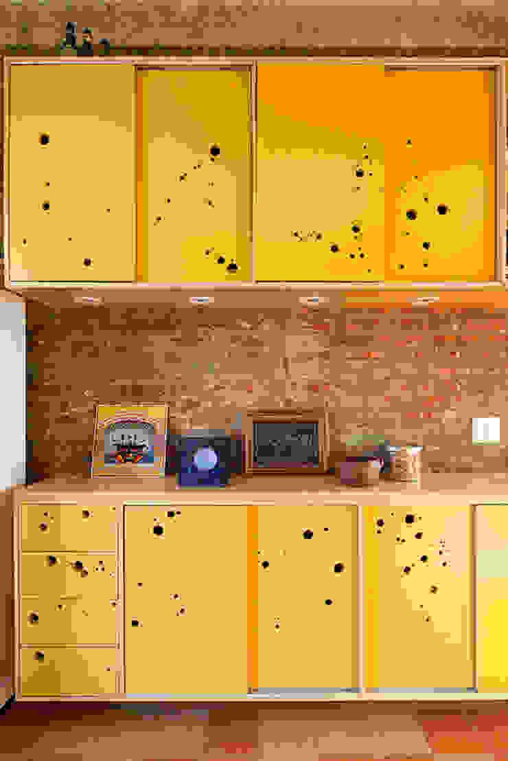 Cuisine originale par Zoom Urbanismo Arquitetura e Design Éclectique