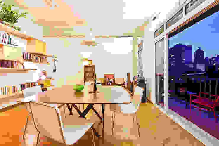 Comedores eclécticos de Zoom Urbanismo Arquitetura e Design Ecléctico