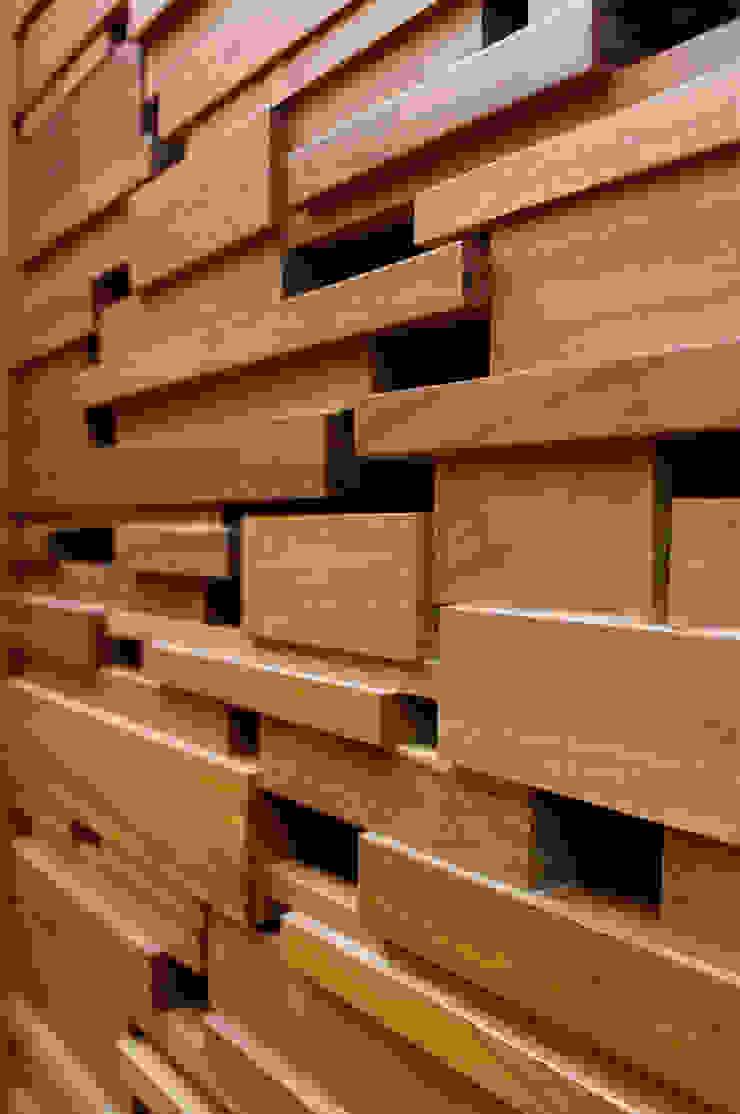 Detalle Carpintería ArquitectosERRE Pasillos, vestíbulos y escaleras de estilo moderno