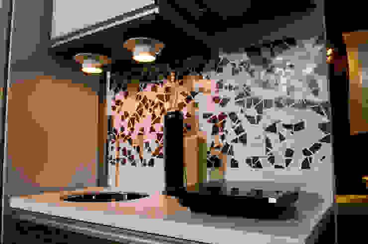 Loft-Container 20' Ferraro Habitat Cozinhas minimalistas