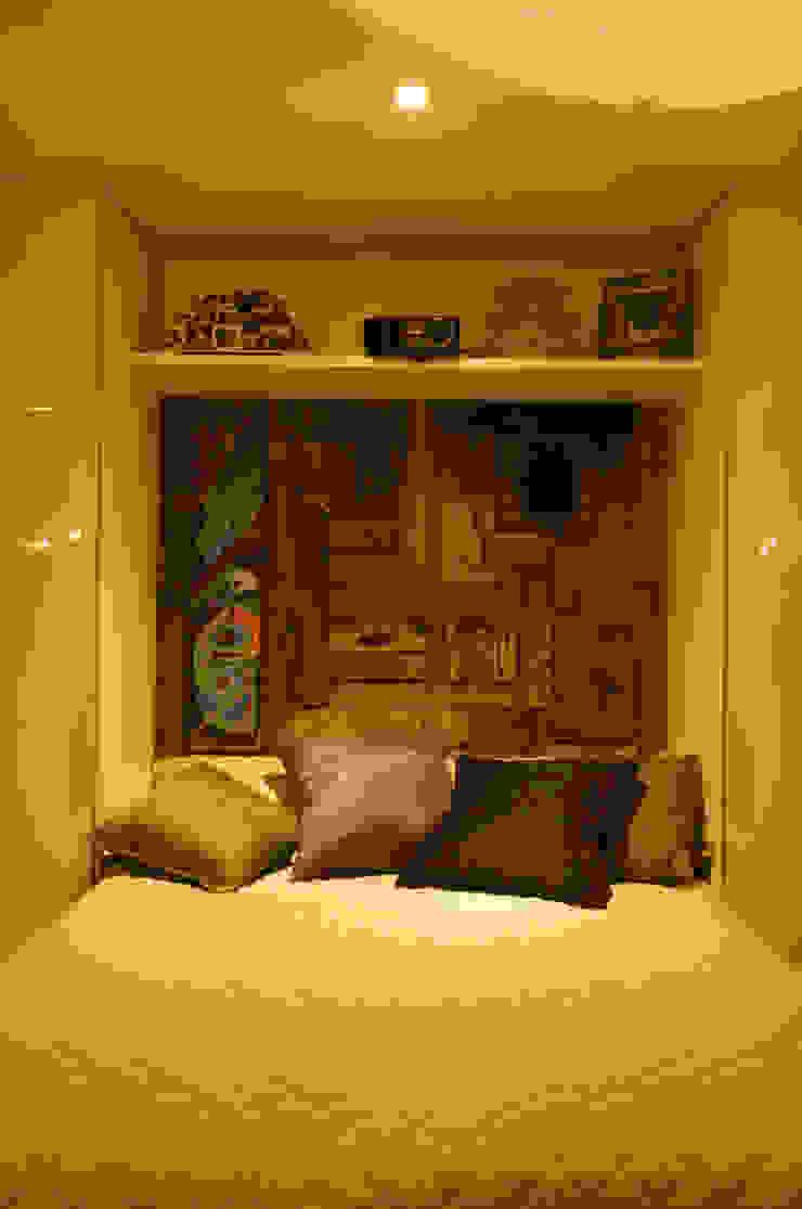 Loft-Container 20' Ferraro Habitat Quartos minimalistas