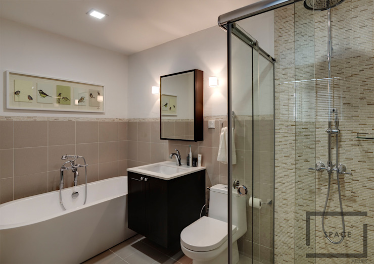Bathroom by Space Atelier Pte Ltd ,
